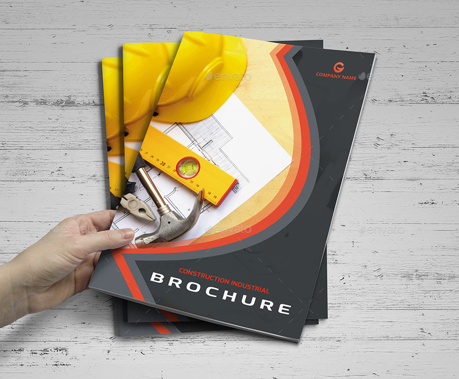 Construction Brochure Templates By Designpick Graphicriver
