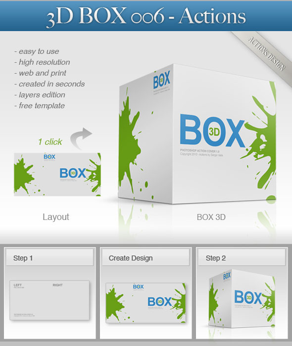 3D Box 006 - Utilities Actions