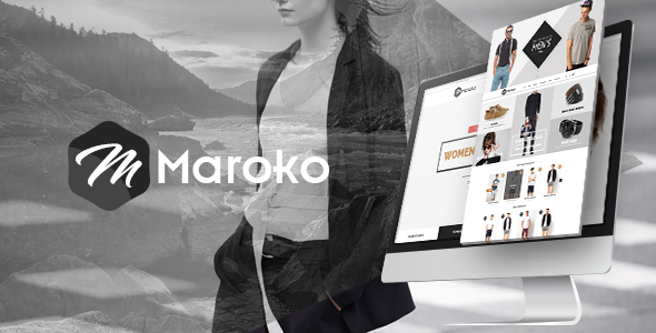 Maroko – ECommerce PSD Template