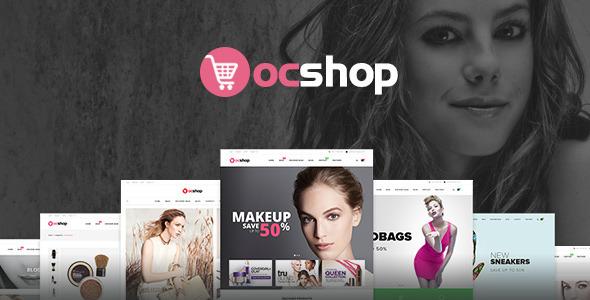 Ves OC Shop Responsive Magento Theme