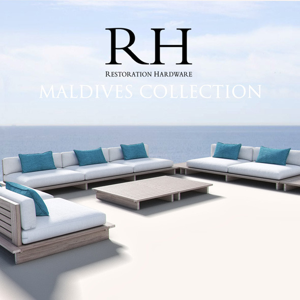 Restoration Hardware - Maldives Collection - 3DOcean Item for Sale