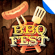 BBQ Festival Flyer Template Vol. 1