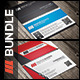 Business Card Bundle Vol 5 - GraphicRiver Item for Sale