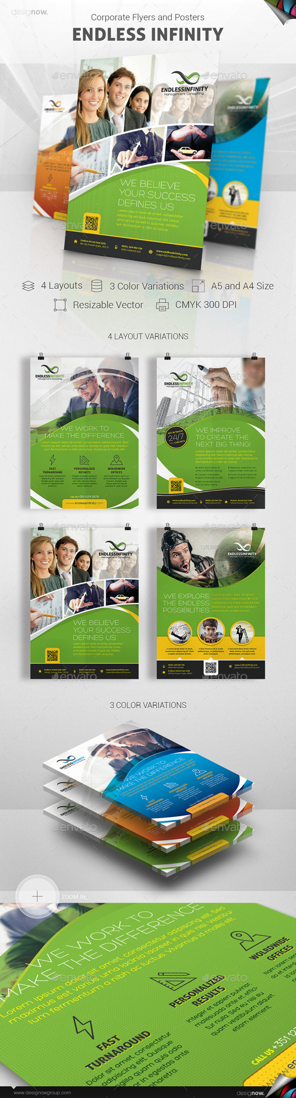 Flyer and Poster - Endless Infinity - Corporate Flyers