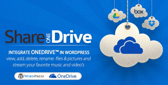 Share-one-Drive | OneDrive plugin for WordPress - CodeCanyon Item for Sale