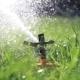 Sprinkler Watering Grass - VideoHive Item for Sale