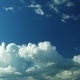 Beautiful Summer White Clouds - VideoHive Item for Sale
