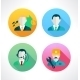 Icon For Website And Mobile Application. Peoples. - GraphicRiver Item for Sale
