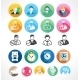 Set Flat Icons. - GraphicRiver Item for Sale