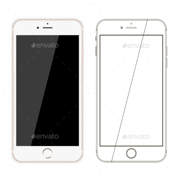 Mobile Phone Vector - Computers Technology