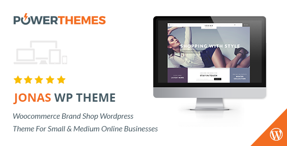Jonas – Woocommerce Brand Shop WP Theme
