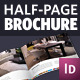 Half Page Brochure InDesign Template - GraphicRiver Item for Sale