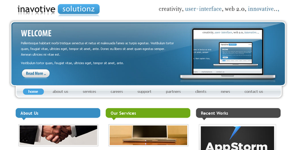 Inavotive Solutionz - Technology Site Templates