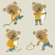 Bear Athlete - GraphicRiver Item for Sale