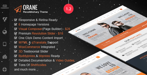 Orane – An Evolutionary WordPress Theme