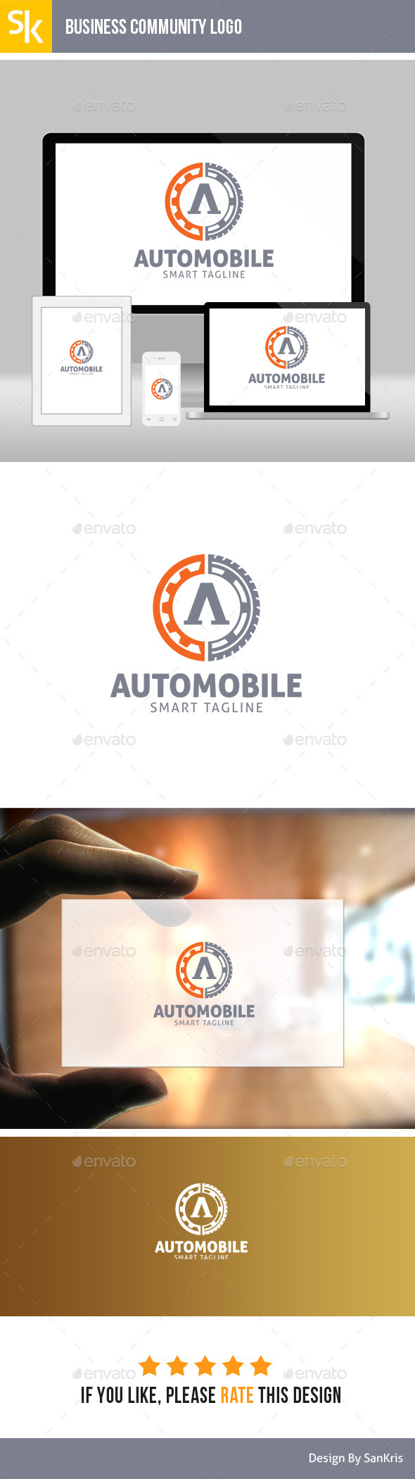 Automobile Logo - Abstract Logo Templates