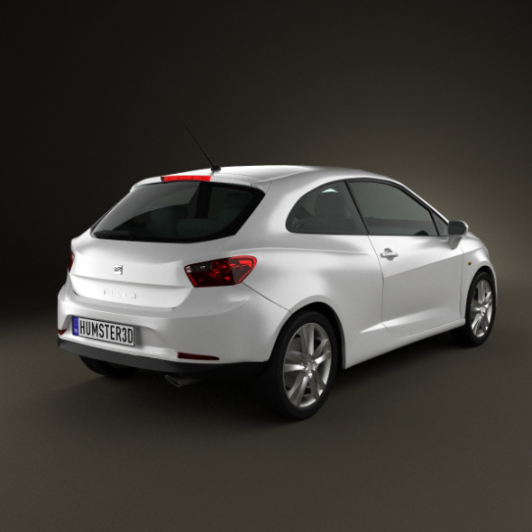 Seat Ibiza Sport Coupe 3door 2011 By Humster3d 3docean