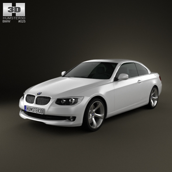 BMW 3 Series Convertible 2011 By Humster3d