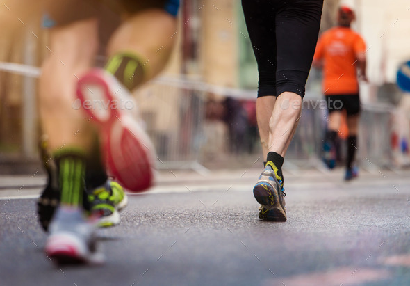 Young runner - Stock Photo - Images