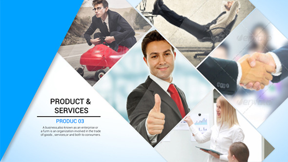 Business Presentation By Dollarhunter  Videohive