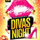 Divas Night Flyer Template