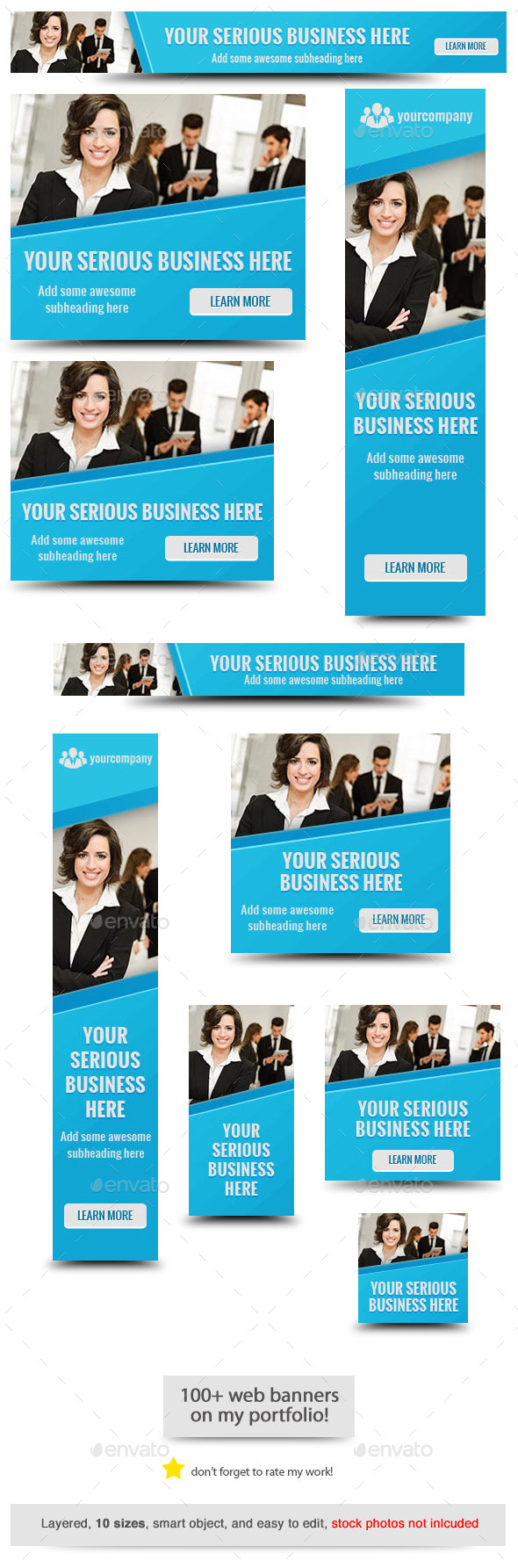 Corporate Web Banner Design Template 60 by admiral_adictus ...