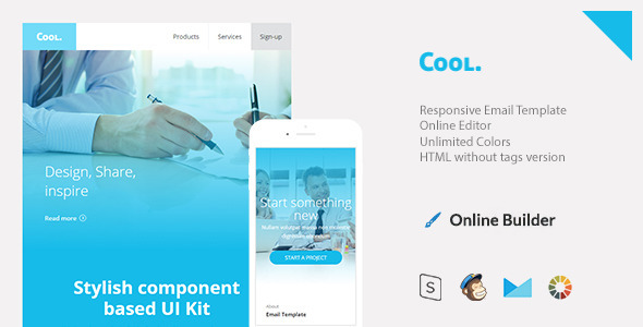 Cool – Responsive Email + StampReady Build