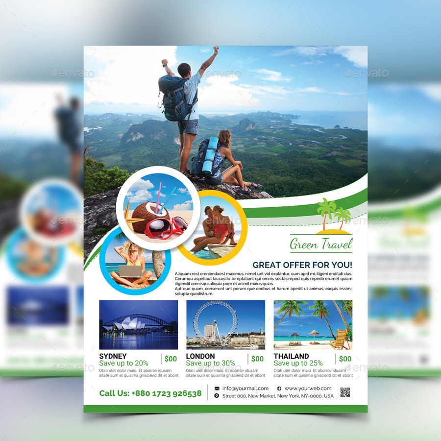 Travel Agency Flyer By Aam360