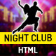Night Club - One Page HTML Template For Parties Nulled