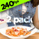 Serving Milk and Cereal  - VideoHive Item for Sale