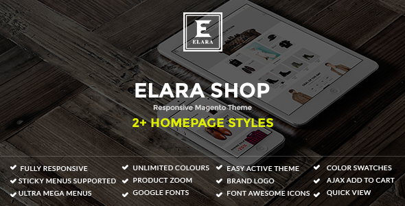 Elara – Responsive Magento Fashion Theme