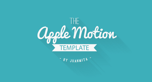 Apple Motion Template