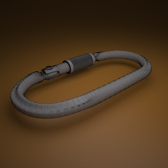 carabiner - 3DOcean Item for Sale