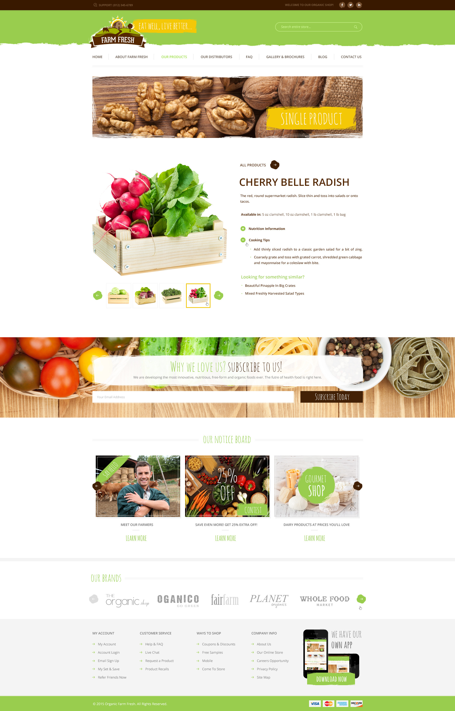 farm fresh organic products html template by themeplayers themeforest. Black Bedroom Furniture Sets. Home Design Ideas