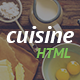 Cuisine - Restaurant HTML Template - ThemeForest Item for Sale
