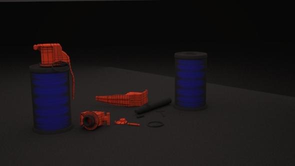 flahbang - 3DOcean Item for Sale