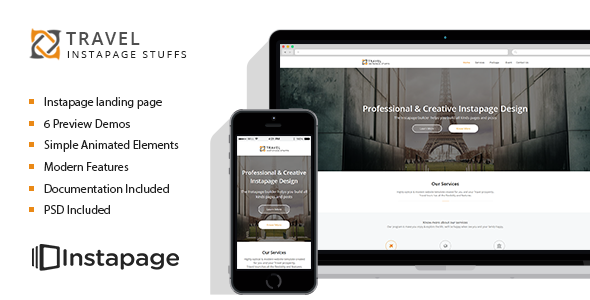 Travel Tour - Instapage Landing Page - Instapage Marketing