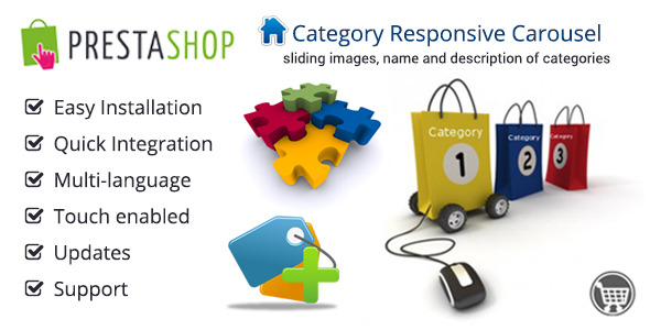 Responsive Category Carousel for Prestashop - CodeCanyon Item for Sale