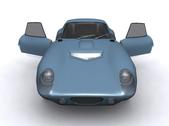 Ford Shelby Daytona - 3DOcean Item for Sale