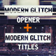Epic Modern Glitch Opener - VideoHive Item for Sale