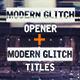 Epic Modern Glitch Opener - VideoHive Item for Sale