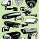 Vector Set: Eleven Security Cameras - GraphicRiver Item for Sale