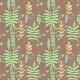 Seamless Pattern With Green Leaves - GraphicRiver Item for Sale
