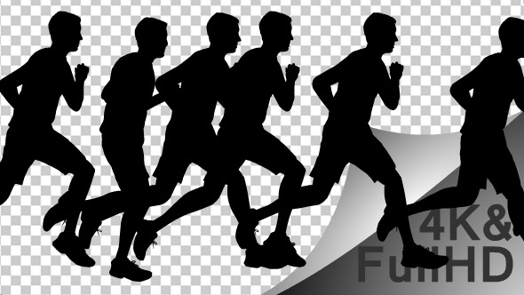 Marathon Runner Athlete Running Finish Line Royalty-Free Stock ...