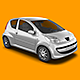City Car Mock-Up - GraphicRiver Item for Sale
