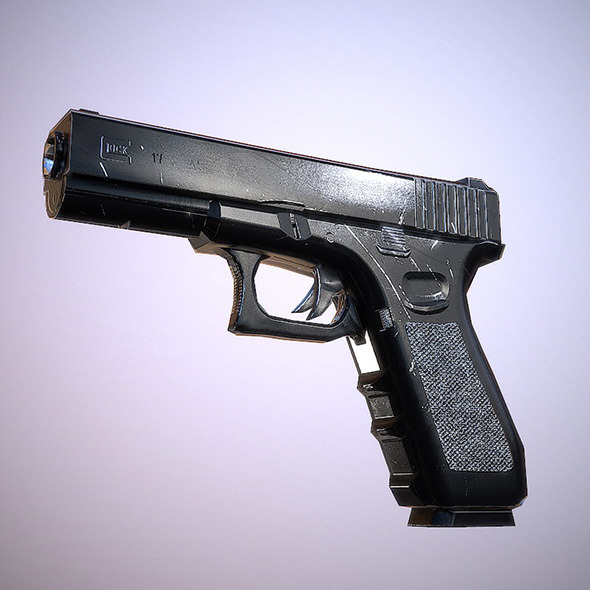 Glock 17 - 3DOcean Item for Sale
