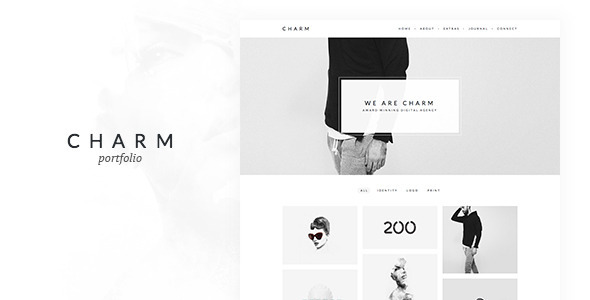 Charm - Portfolio for Freelancers & Agencies - Portfolio Creative