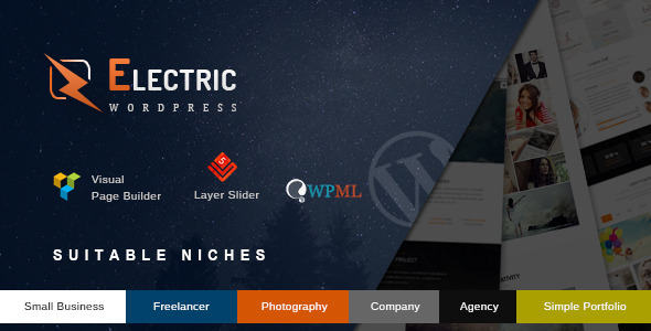 Electric – The Premium WordPress Theme