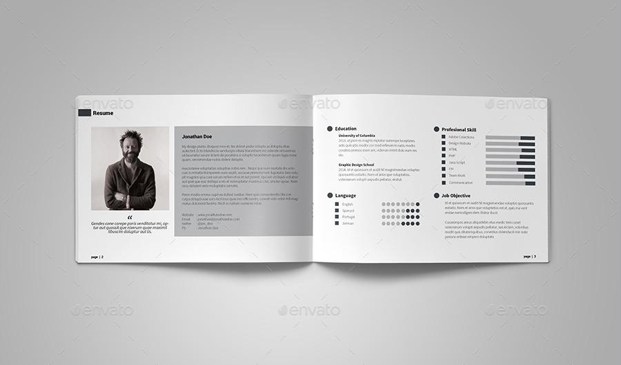 A5 graphic designer portfolio by vanroem graphicriver a5 graphic designer portfolio pronofoot35fo Choice Image
