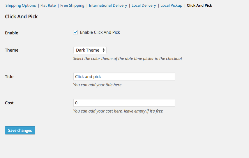 Woocommerce - Click And Pick ( Local Pickup )